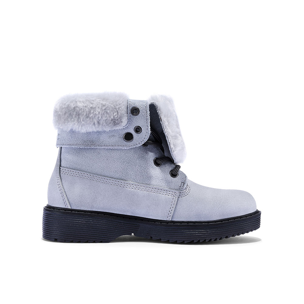 Kids' 4-Inch Comfort Snow Boots (Lace-up)